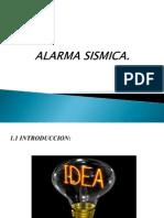 ALARMA SISMICA