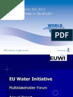 Annual-Report EU Water Initaitive