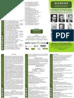 Folder Do i Coloquio Internacional - Maio de 2012