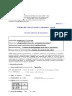Popescu Ion __ 16. Anexa 17 - Formular de Identificare STANDARD