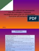ISTALACIONES ELECTRICAS PARA UN PC