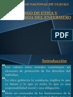 Codigo de Etica y Deontologia Del Enfermero