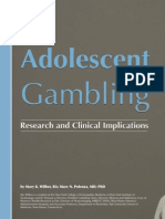 Adolescent Gambling _ Research and Clinical Implication