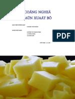 Công nghệ sản xuất bơ