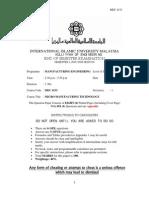 Micro Exam Paper