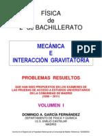 1.3 - MECÁNICA Y GRAVITACIÓN - PROBLEMAS RESUELTOS DE ACCESO A LA UNIVERSIDAD (I)