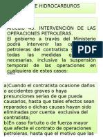 Presentacion de Ley de Hidrocarburos