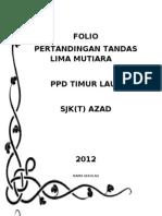 Folio Tandas