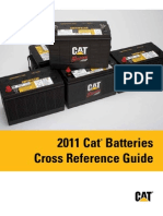 PEGP7801-06 2011 Cat Batteries Cross Reference Guide