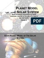 Eight Planet Model of the Solar System New