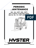 Hyster 110FT Periodic Maintenance