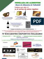 Cartel IV Encuentro Deportivo Solidario