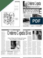 Versión impresa del periódico El mexiquense 8 mayo 2012