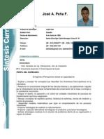 Sintesis Curricular Jose