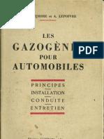 Gazogene Automobile 1940