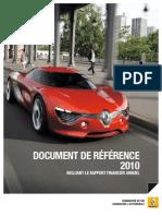 Renault - Document de référence 2010