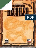 D20 Modern - Sidewinder Recoiled - Wild West RPG[1]