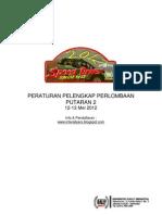 Peraturan Speed Driver 2012 Put 2 + Peraturan Umum