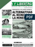 Periodico Tierra y Libertad  - Edicion N°04