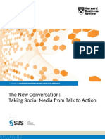 SAS Social Media Analytics HBR Report the New Conversation