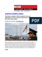 America's Pacific Century by Hillary Clinton