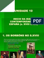 unidade 10 fin antigo réxime en España