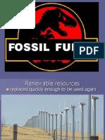 Bio 111 Fossil Fuels Week9