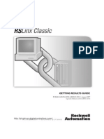 Allen Bradley-RsLinx Classic Manual Book