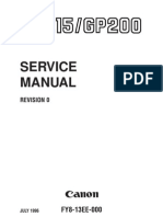 GP 215 Service Manual