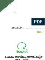 Agenda Reciclaje Para Bogota UAESP INNOVA