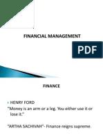 1. Financial Management