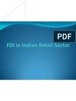 FDI in Indian Retail Sector Final