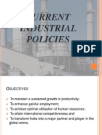 Current Industrial Policies