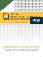 LEED AP ID+C Candidate Handbook