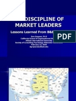 Discipline of Market Leaders
