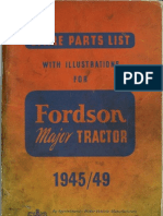 ford tractor sales lit