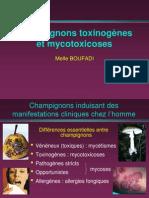 Champignons genes Et Mycotoxicoses 2005-2006
