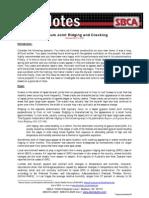 Gypsum Joint Ridging & Cracking