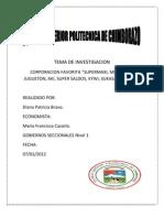 TEMA de INVESTIGACION Gobiernos Secc Ion Ales