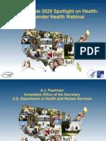 Transgender Health Webinar_Healthy People 2020_For Audience