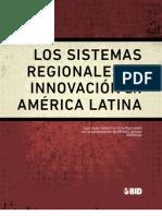 Los sistemas regionales de innovación BID