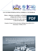 Desarrollo Contenedores-Tratamientos Especiales Presentacion