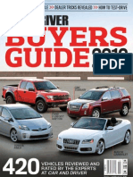 Car and Driver Buyer's Guide 2010
