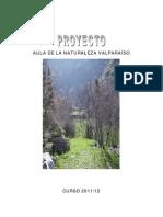 Proyecto Aula Naturaleza Valparaíso 11-12