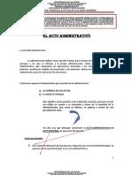 El Acto Administrativo 2012 Primer Borrador