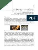 InTech-Visual Analysis of Robot and Animal Colonies