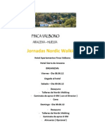 Jornadas Nordic Walking