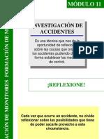 Módulo 11 Investigación de Accidentes
