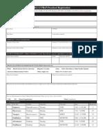 PReP 2012-13 Registration Form