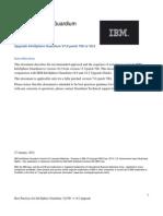 Best Practices Upgrade v7p706 to v82 2012-01-31